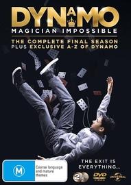 Dynamo: Season 4 on DVD