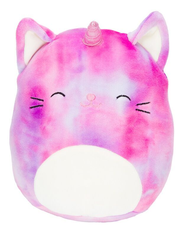 "Squishmallows 12"" Plush - Carla the Purple Tie-Dye Caticorn"