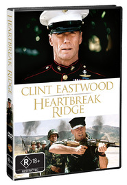 Heartbreak Ridge on DVD image