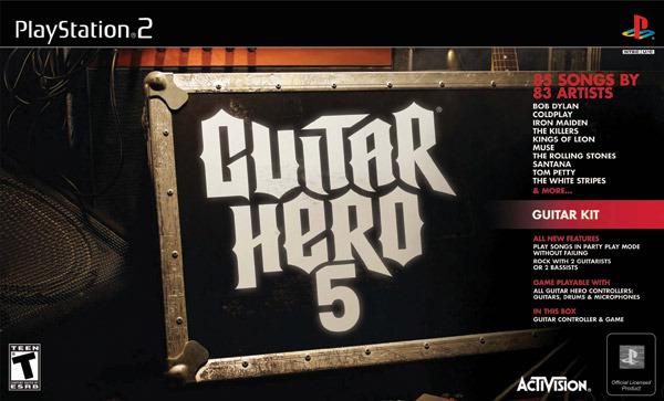 Guitar Hero 5 Guitar Bundle (Game + Guitar) for PlayStation 2