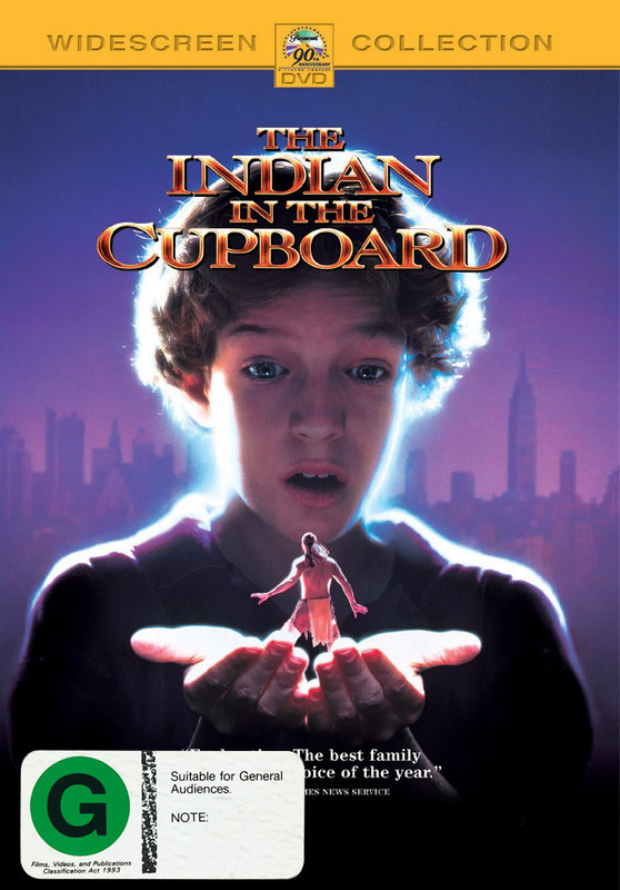 The Indian in the Cupboard on DVD