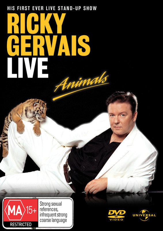 Ricky Gervais Live - Animals on DVD image