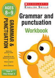 Grammar and Punctuation Year 4 Workbook by Christine Moorcroft image