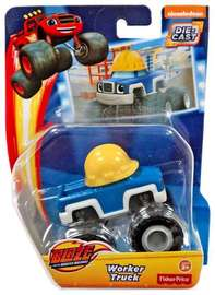 Blaze & The Monster Machines: Diecast Vehicle - Worker Truck