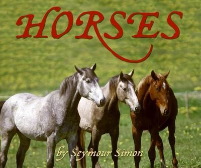 Horses by Seymour Simon image