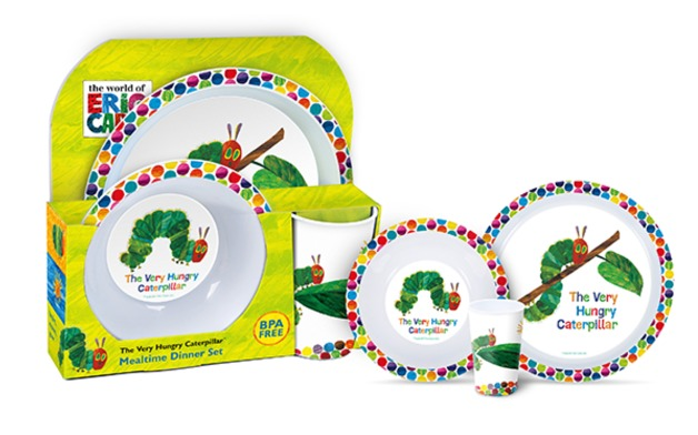World Of Eric Carle Very Hungry Caterpillar - 3-Piece Dinner Set  sc 1 st  Mighty Ape & Buy Very Hungry Caterpillar - 3-Piece Dinner Set at Mighty Ape NZ