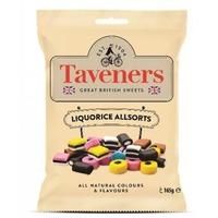 Taveners Great British Sweets Liquorice Allsorts (165g)