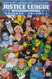 Justice League International Omnibus Vol. 1 by Keith Giffen
