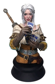 The Witcher 3: Ciri Playing Gwent - Mini Bust