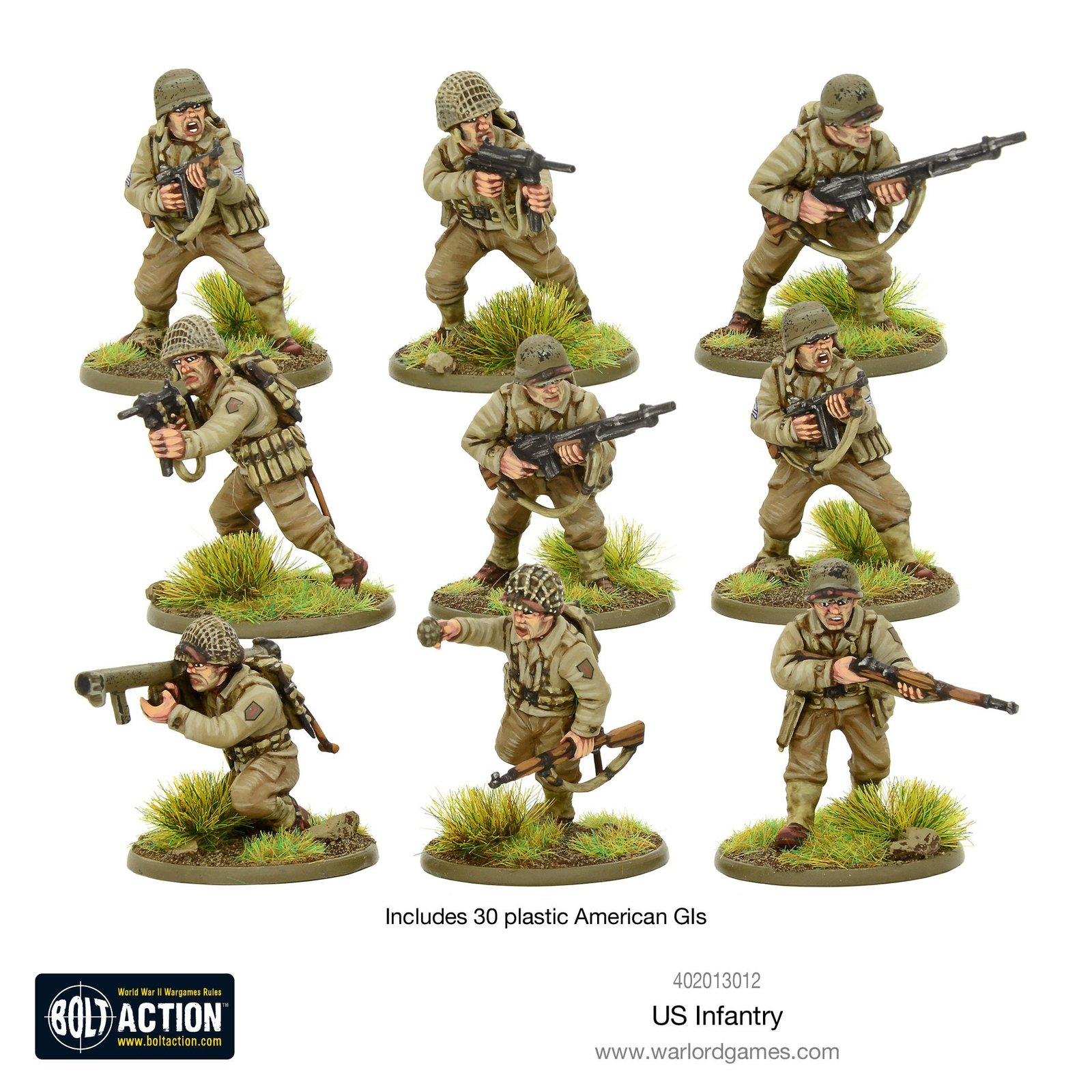 Bolt Action: US Infantry - WWII American GIs image