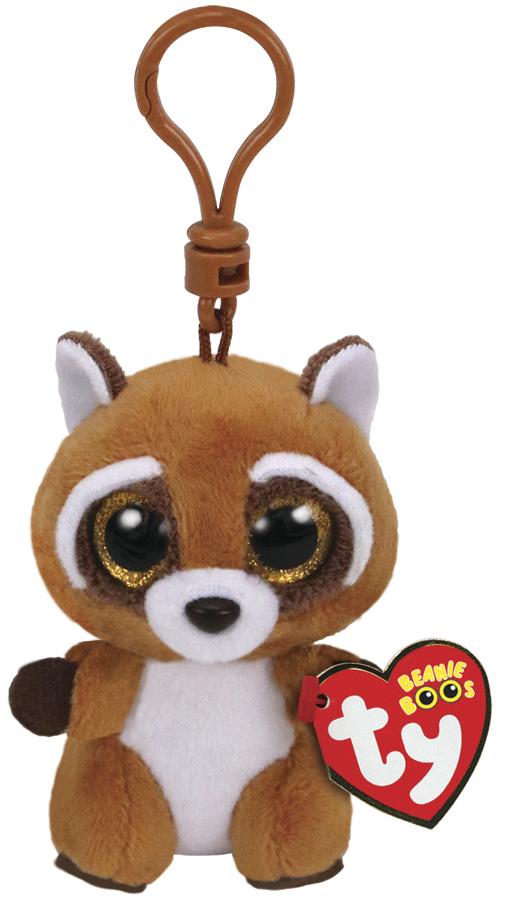 b432aa70681 TY Beanie Boos  Rusty Raccoon - Clip On Plush image