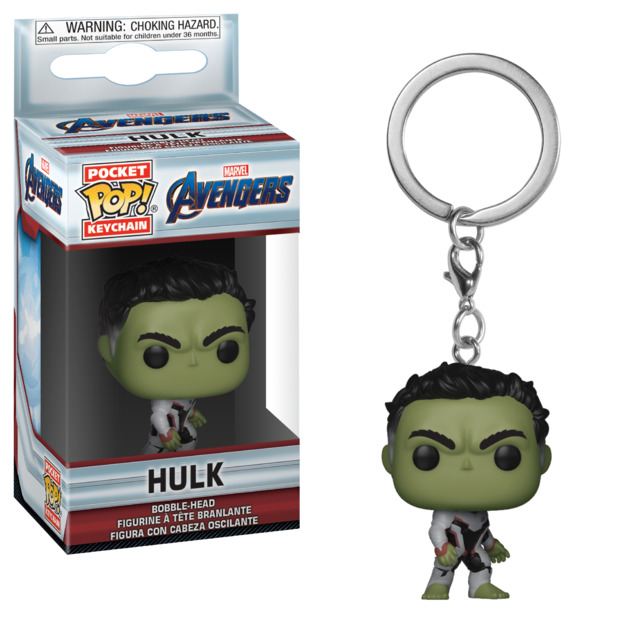 Avengers: Endgame - Hulk Pocket Pop! Keychain