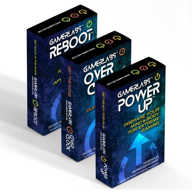 Gamerlabs: Ultimate 3 Pack (PowerUp/Overclock/Reboot)