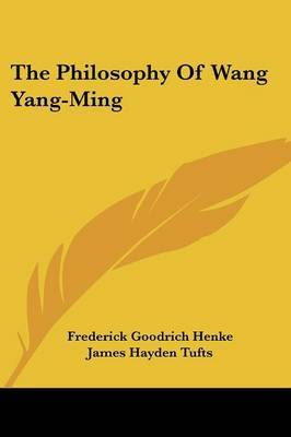 The Philosophy of Wang Yang-Ming image