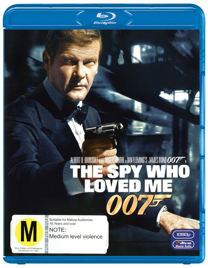 The Spy Who Loved Me (2012 Version) on Blu-ray image