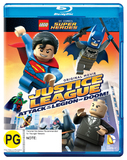LEGO: Justice League: Attack of the Legion of Doom on Blu-ray