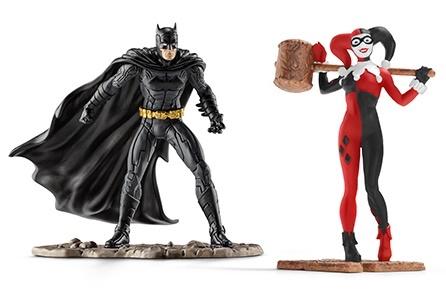 Schleich: Batman vs. Harley Quinn Scenery Pack