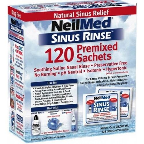 NeilMed Sinus Rinse Refill (120 Sachets)
