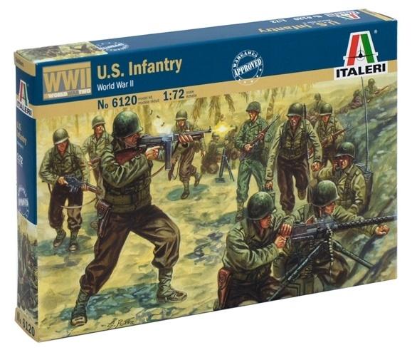 Italeri: 1:72 U.S. Infantry - Model Kit