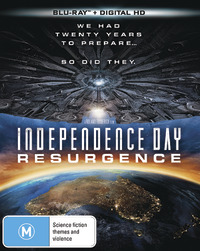 Independence Day: Resurgence on Blu-ray