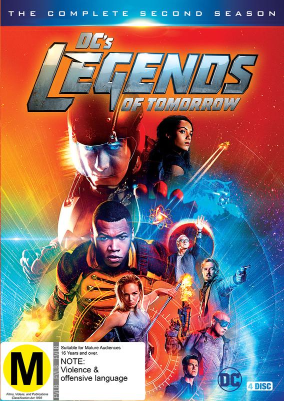 DC'S Legends of Tomorrow - Season 2 on DVD