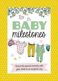 Baby Milestone Cards by Lenneke den Hertog