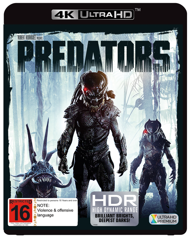 Predators on UHD Blu-ray