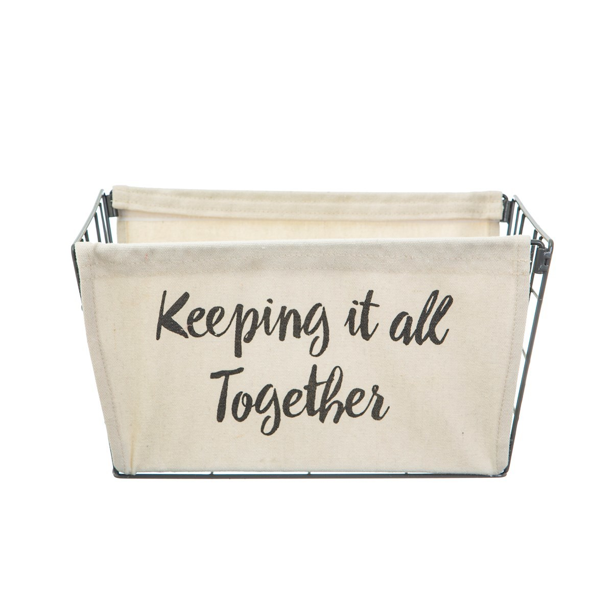 Sass & Belle: Wire Storage Basket - Keeping It All Together image