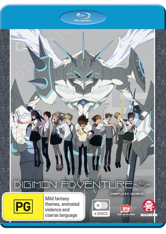 Digimon Adventure Tri Complete Series on Blu-ray