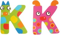 Tatiri Alphabet Letter Crazy Animal - K