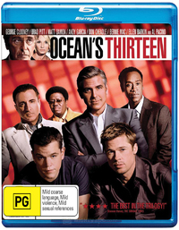 Ocean's Thirteen on Blu-ray