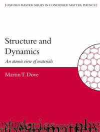 Structure and Dynamics by Martin T. Dove image