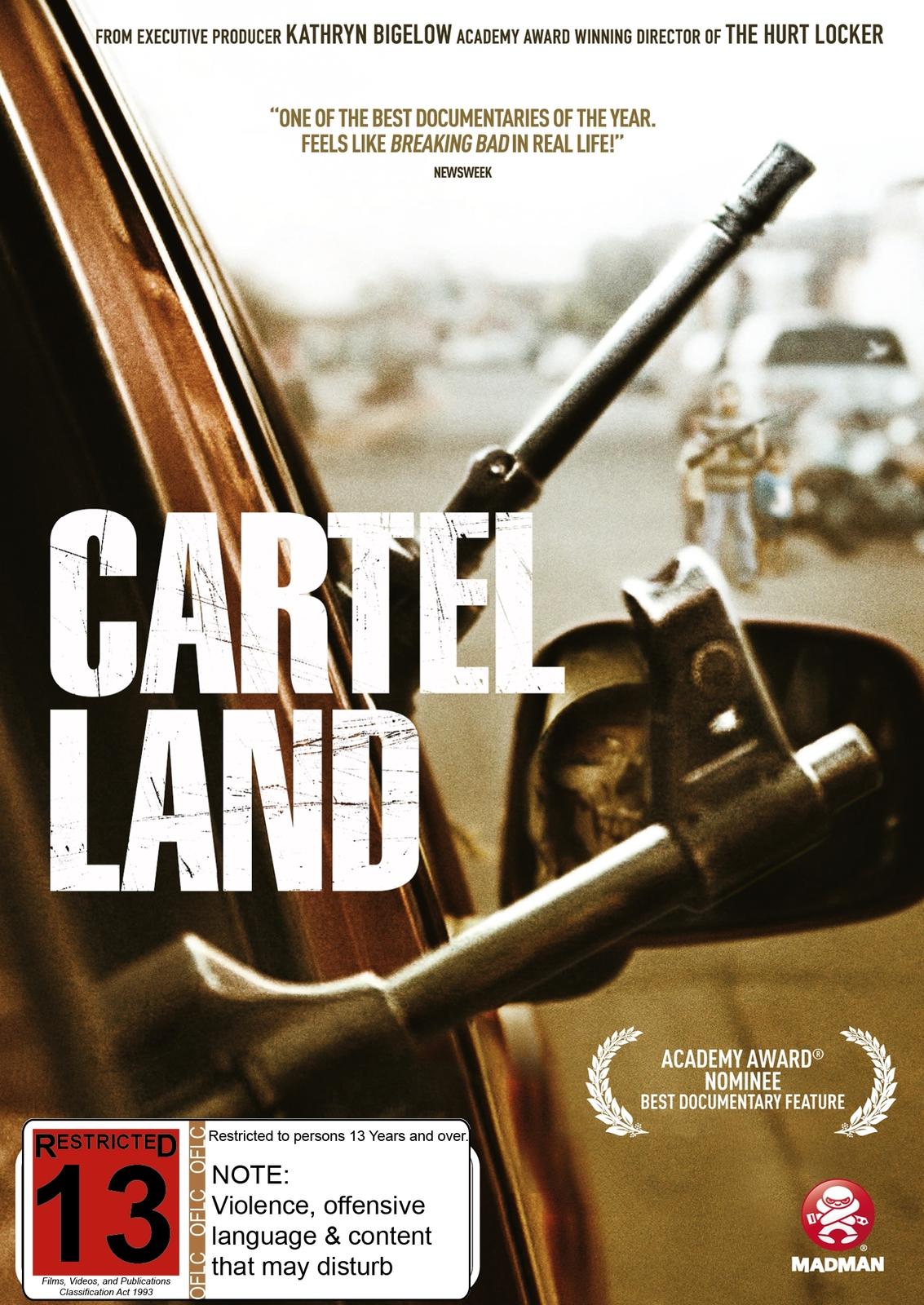 Cartel Land on DVD image