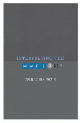 Interpreting the MMPI-2-RF by Yossef S. Ben-Porath image