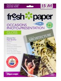 Fresh Photo Paper Occasions Gloss - A4 (15 sheets)