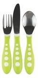 NUK: Big Kids Cutlery Set - Green