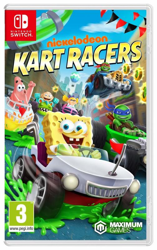 Nickelodeon Kart Racers for Switch
