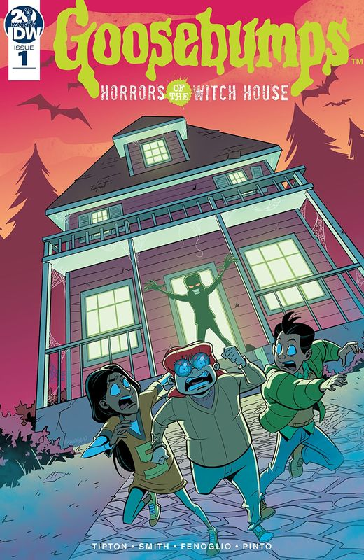 Goosebumps: Horrors Of The Witch House - #1 (Cover A) by Matthew Dow Smith