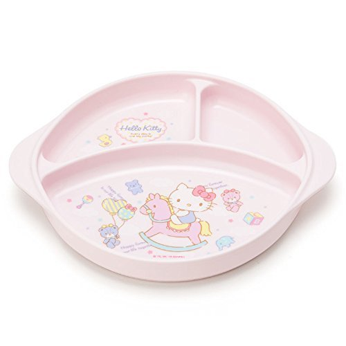 Hello Kitty Plastic Plate: Rockinghorse