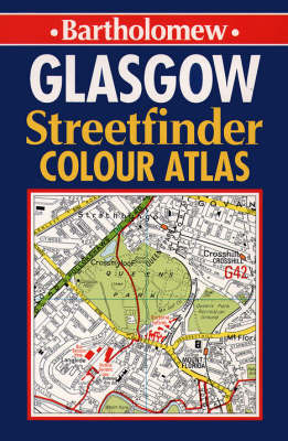 Glasgow Streetfinder Colour Atlas image