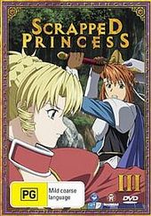 Scrapped Princess - Vol 3 Travelling Trouble on DVD