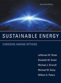 Sustainable Energy by Jefferson W. Tester