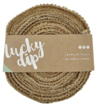 Kaisercraft: DIY - Burlap Roll - 2""