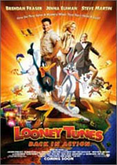 Looney Tunes: Back in Action on DVD