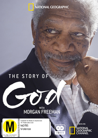 The Story Of God With Morgan Freeman on DVD image