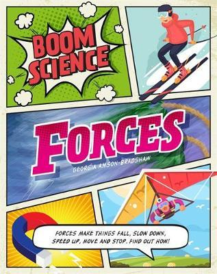 BOOM! Science: Forces by Georgia Amson-Bradshaw image