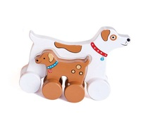 Jack Rabbit Creations: Mummy & Baby Push Toy - Dog