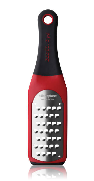 Microplane: Artisan Extra Coarse Grater-Red