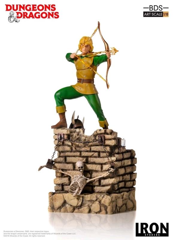 D&D (TV): Hank the Ranger - 1:10 Art Scale Statue