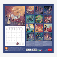 Legami: Peter & Wendy 2020 Wall Calendar image